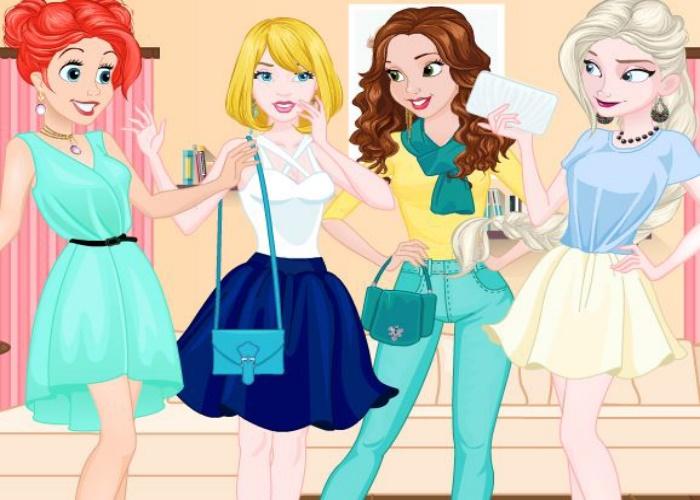 Jolies princesses au collège