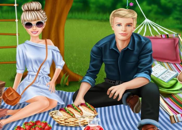 Pique nique avec Ken