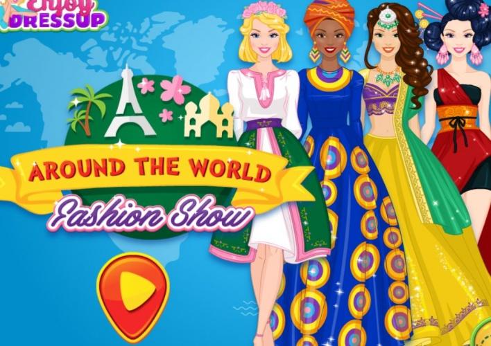 Défilé de tenues mondiales