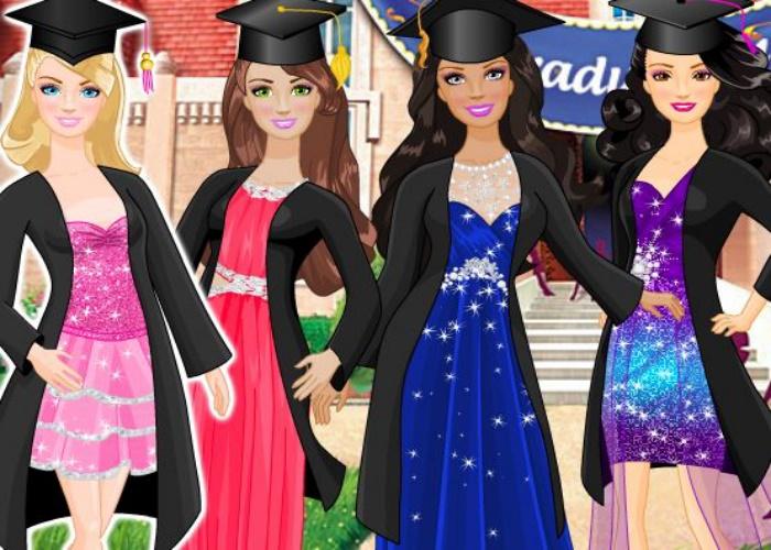 Barbie diplômée