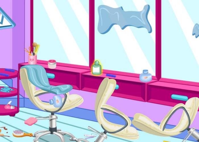 nouveau salon de coiffure sali sur jeux fille gratuit. Black Bedroom Furniture Sets. Home Design Ideas
