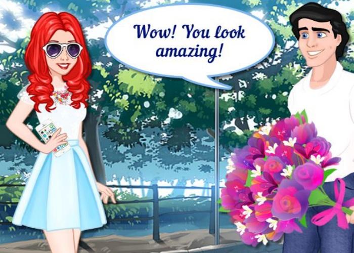 Ariel en rendez vous avec Eric