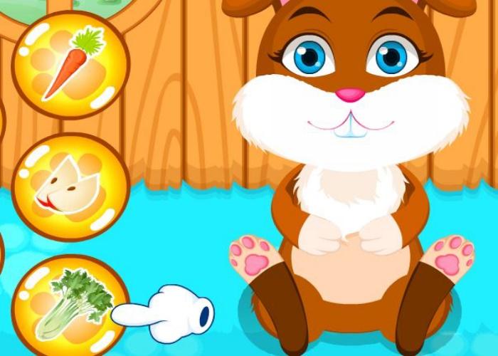 Mignon petit lapin sur jeux fille gratuit - Jeux de mignon gratuit ...