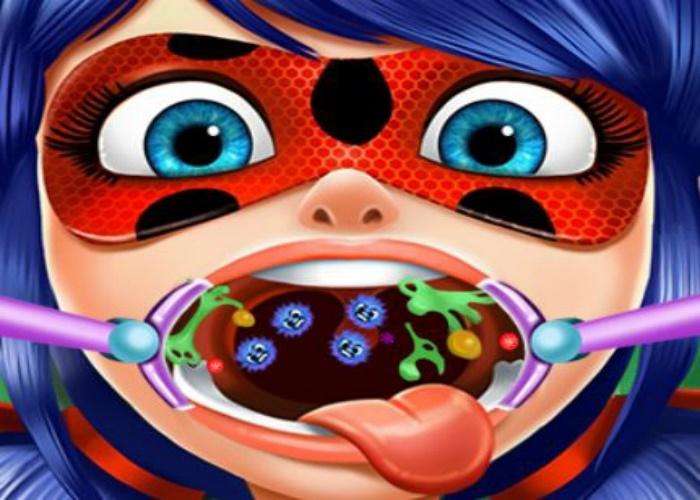 Ladybug a mal aux dents
