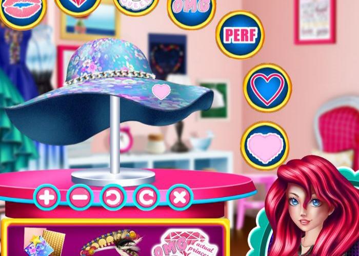 Le chapeau d 39 ariel sur jeux fille gratuit - Jeux fille 6 ans gratuit ...