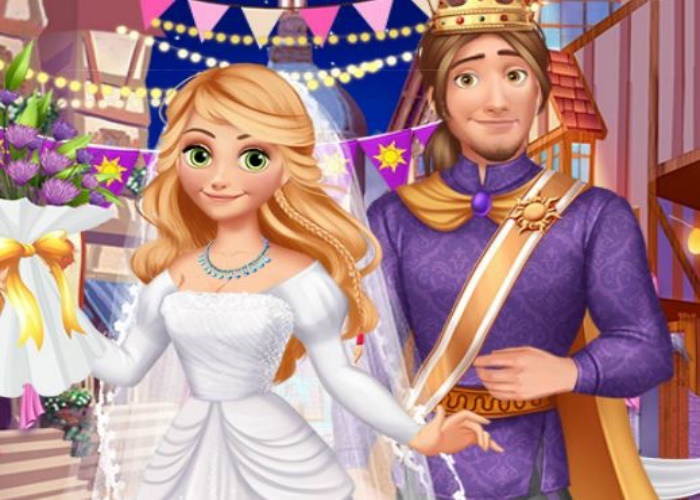 Raiponce mariage médiéval