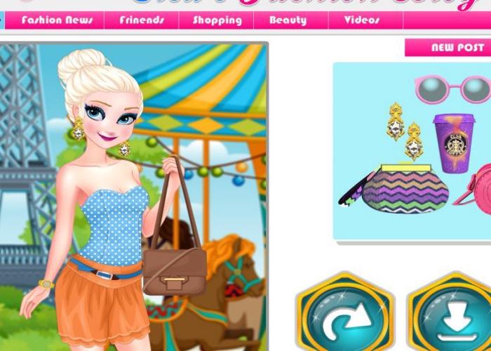 Elsa blogueuse de mode