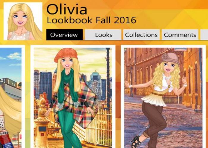 Look d'automne d'Olivia