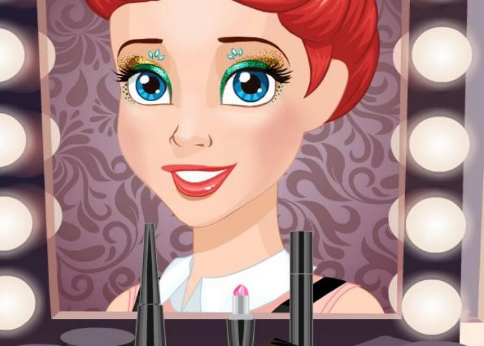 Soirée maquillage entre princesses