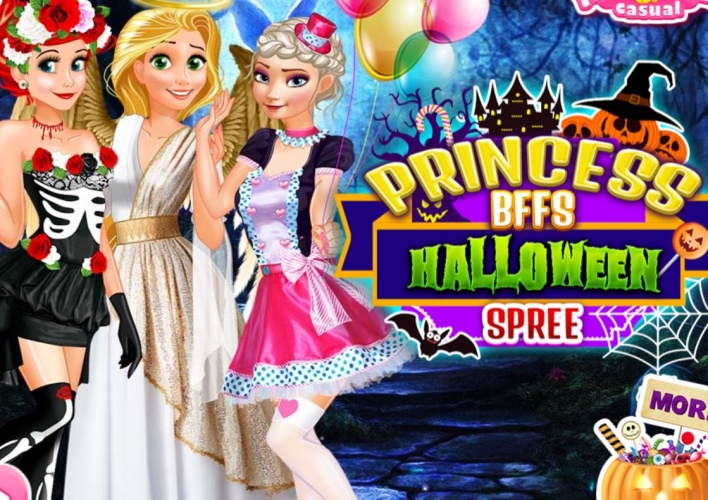 Princesses en mode Halloween