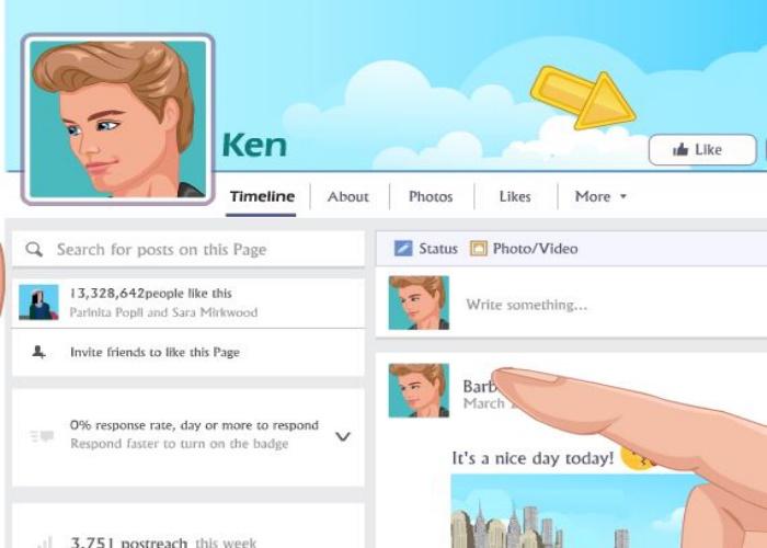 Rencontre web de Barbie et Ken