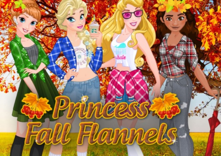 4 princesses en automne