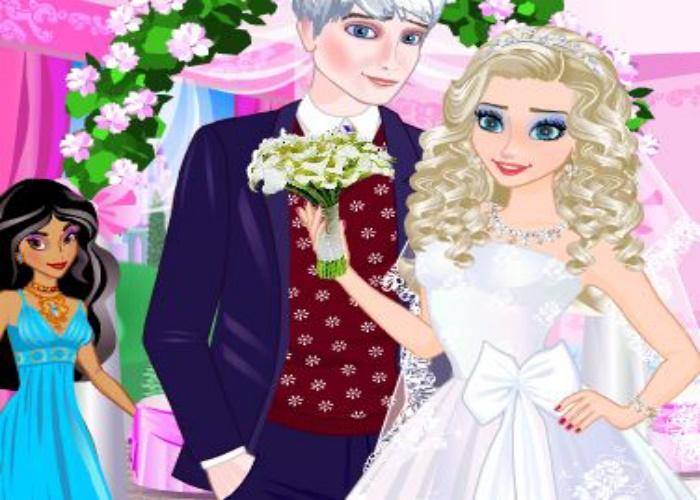 Mariage d'Elsa et Jack