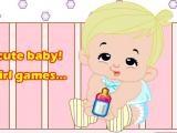 Habillage simple de bébé