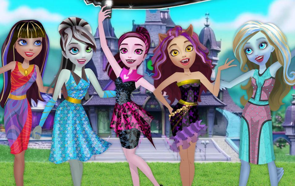 Bienvenue chez les Monster High