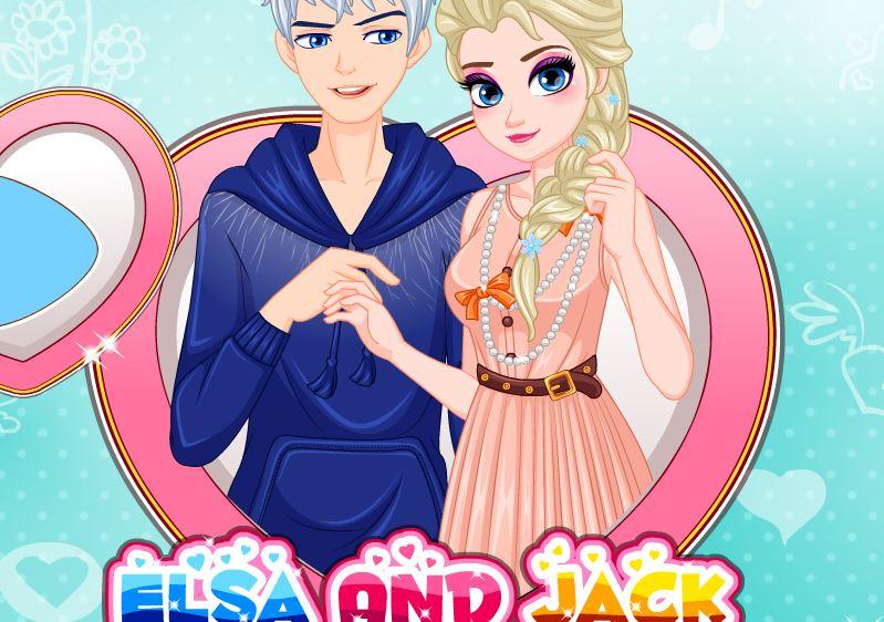 Elsa sort avec Jack