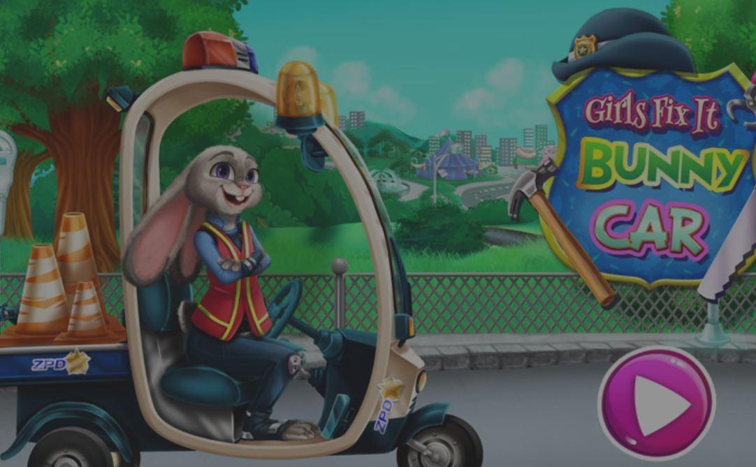 Réparer la voiture de Judy