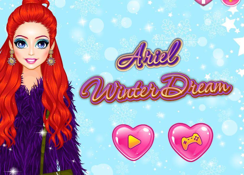 Ariel en mode hiver