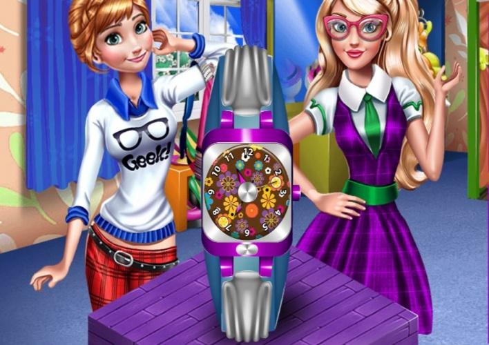 2 soeurs pour la plus belle montre sur jeux fille gratuit - Jeux de violetta gratuit pour fille ...