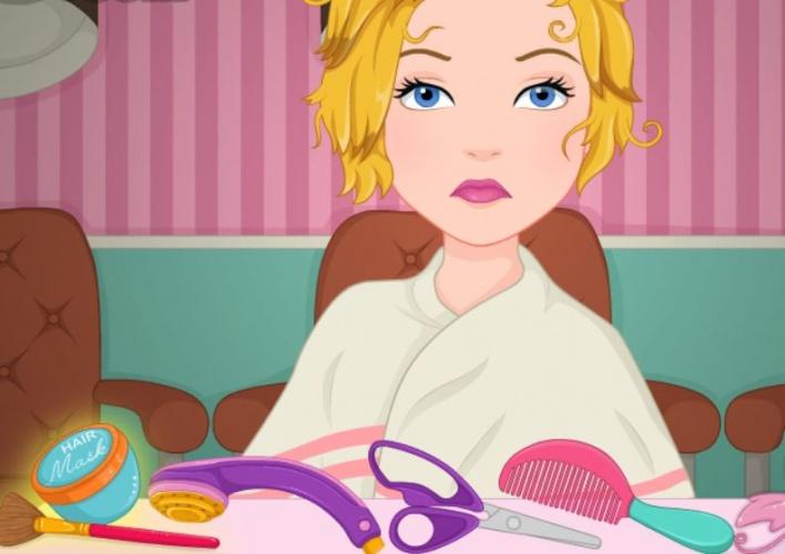 Catastrophe capilaire chez cendrillon sur jeux fille gratuit - Jeux de fille gratuit de cuisine et de coiffure ...
