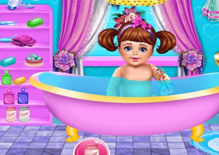 Prendre soin d 39 une petite fille sur jeux fille gratuit - Jeux de fille gratuit de cuisine et de coiffure ...