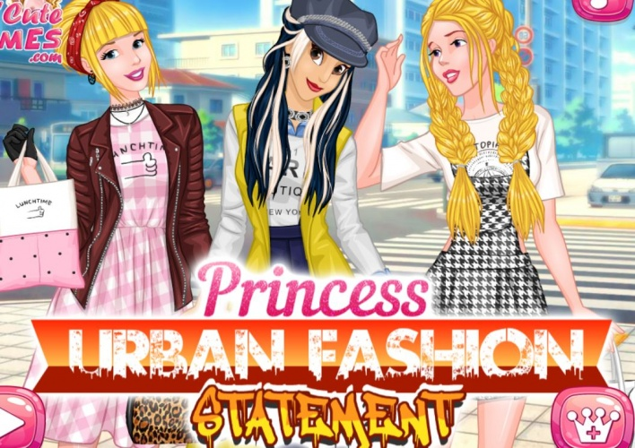 3 princesses urbaines chic