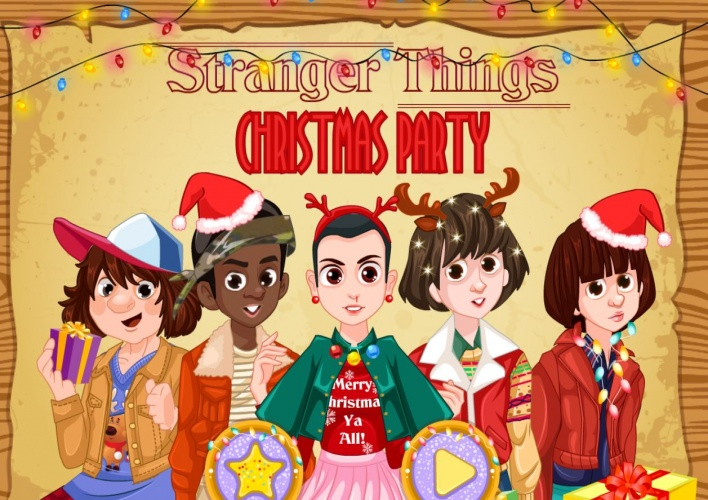 Noël avec la team Stranger Things