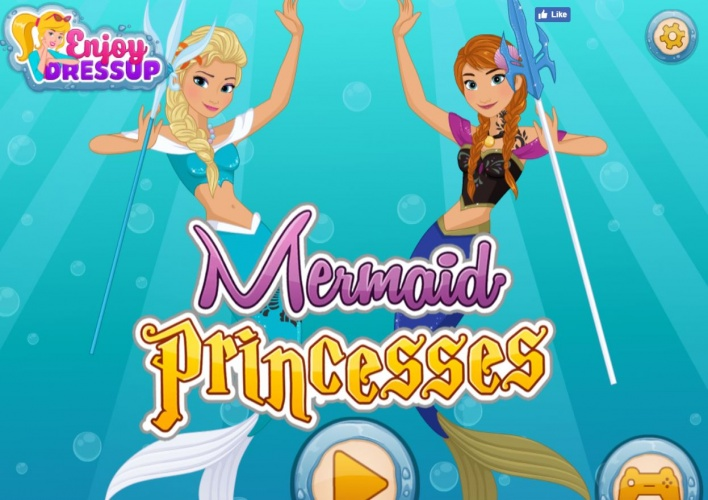 Princesses version sirènes
