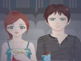 Beauté d'un couple au ciné