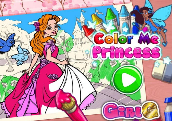 Princesses à colorier
