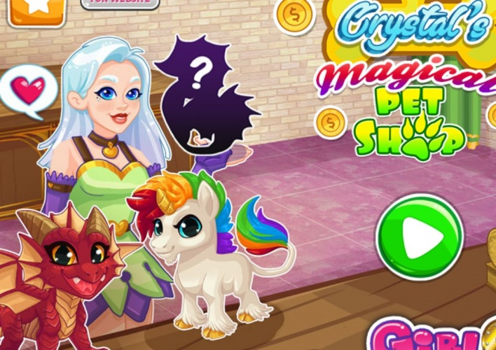 Animalerie fantastique de Crystal