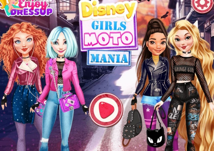 Princesses fan de moto