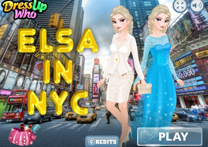 Elsa Frozen à New York