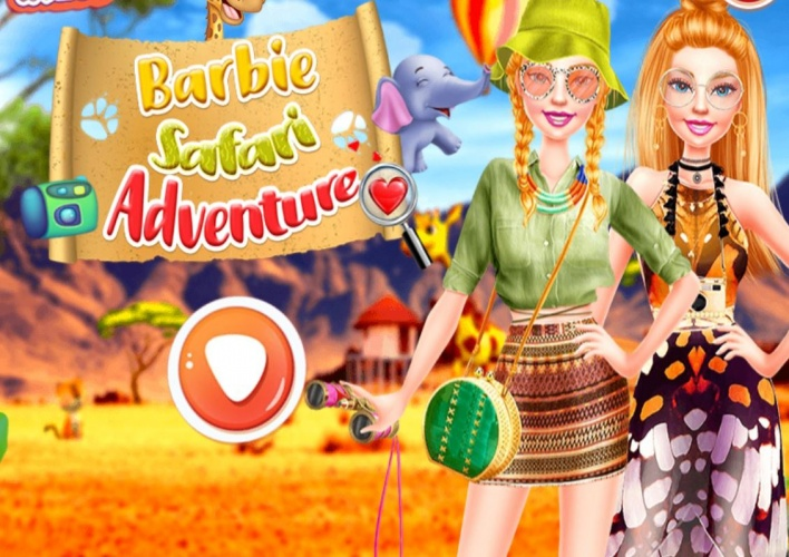 Safari aventure pour Barbie