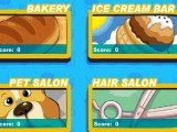 4 jeux : coiffure, cuisine, animaux