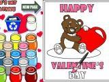 Coloriage de Saint Valentin