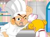 S'amuser au travail en cuisine