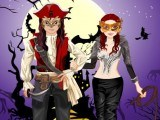 Couple d'Halloween