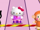 Roller avec Hello Kitty